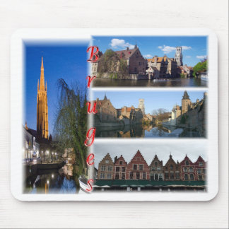 Bruges Belgium Mouse Pad