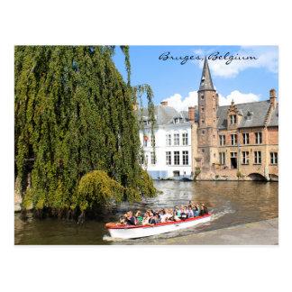 Bruges, Belgium Postcard