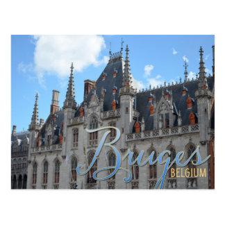 Bruges Belgium | Provence Court Building Postcard