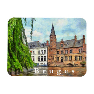 Bruges. Connecting the town and the river. Magnet