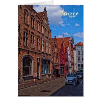 Brugge, Belgium Greeting Card