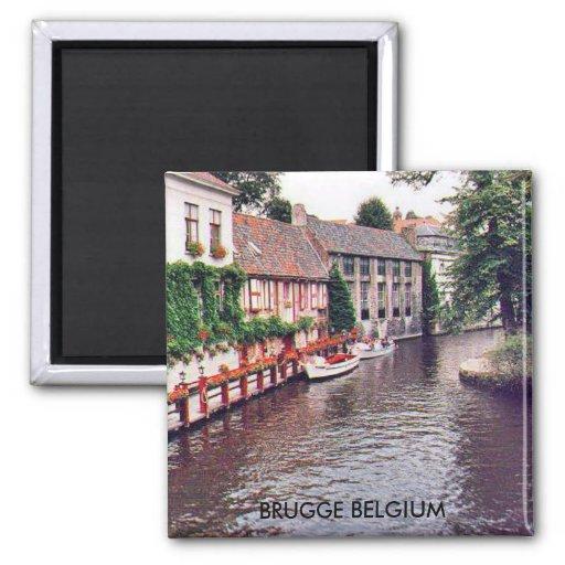 BRUGGE BELGIUM FRIDGE MAGNETS