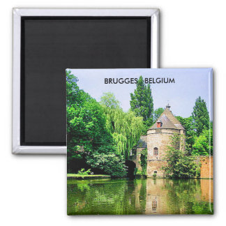 BRUGGES  BELGIUM MAGNET