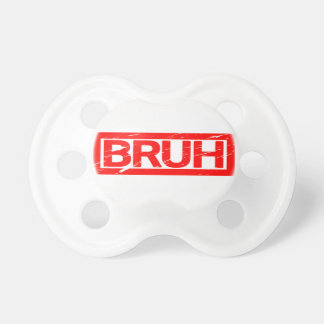 Bruh Stamp Pacifier