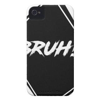 """""""Bruh"""" Word Design Case-Mate iPhone 4 Case"""