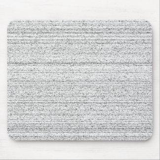 Bruit blanc. Grain noir et blanc de Milou Tapis De Souris