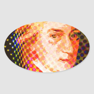 Bruit Mozart Stickers Ovales