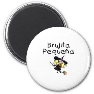 Brujita Pequena 2 Inch Round Magnet