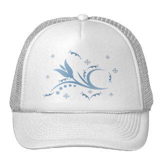 Brume de tulipe dans le chapeau bleu casquette de camionneur