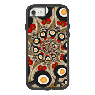 Brunch Fractal Art Funny Food, Tomatoes, Eggs Case-Mate Tough Extreme iPhone 8/7 Case