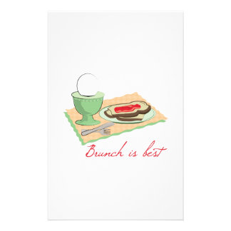 Brunch is Best Customized Stationery