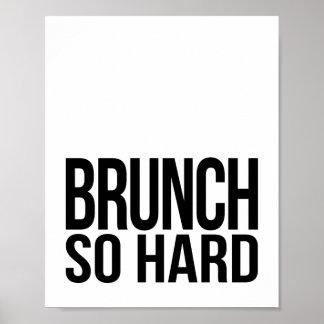 Brunch So Hard | Art Print
