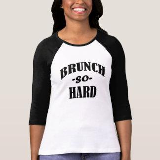 Brunch so Hard funny women's shirt
