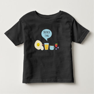 Brunch time toddler t-shirt