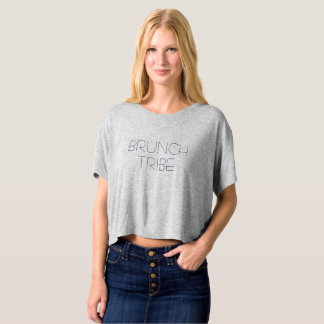 BRUNCH TRIBE Loose Fit Shirt Women Girlfriend Gift