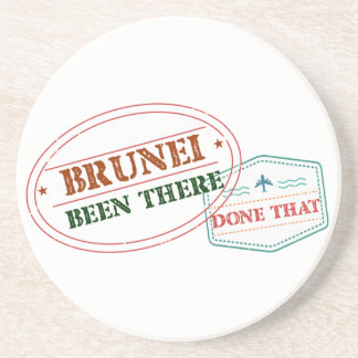 Brunei Been There Done That Coaster