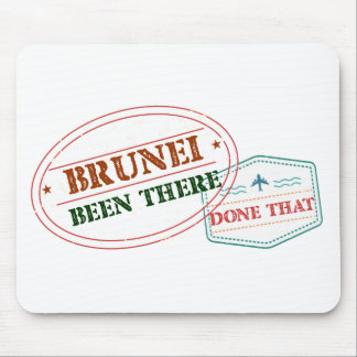 Brunei Been There Done That Mouse Pad