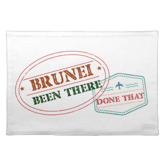 Brunei Been There Done That Placemat