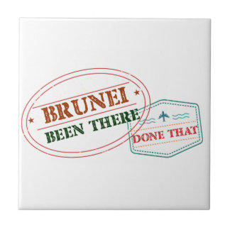 Brunei Been There Done That Tile