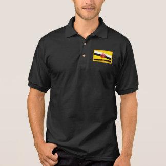 Brunei Flag Polo Shirt