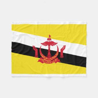 Brunei National World Flag Fleece Blanket