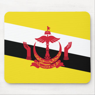 Brunei National World Flag Mouse Pad