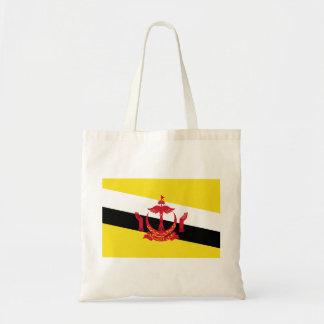 Brunei National World Flag Tote Bag