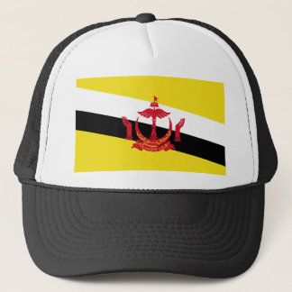 Brunei National World Flag Trucker Hat