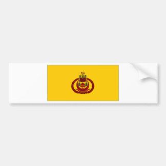 Brunei Royal Standard Flag Bumper Sticker