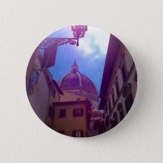 Brunelleschi Dome in Florence, Italy 2 Inch Round Button