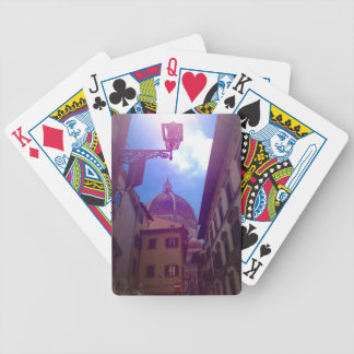Brunelleschi Dome in Florence, Italy Bicycle Playing Cards