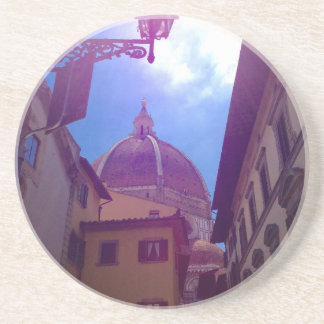 Brunelleschi Dome in Florence, Italy Coaster