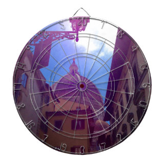 Brunelleschi Dome in Florence, Italy Dartboard