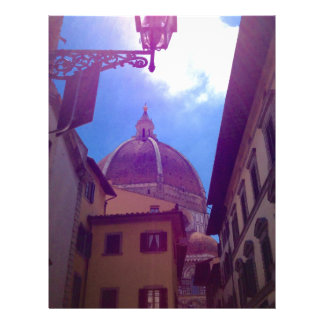 Brunelleschi Dome in Florence, Italy Letterhead