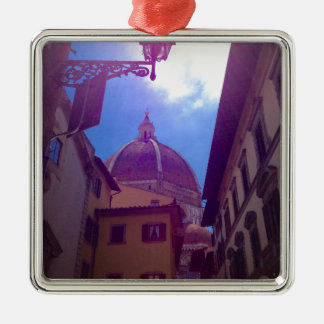 Brunelleschi Dome in Florence, Italy Metal Ornament
