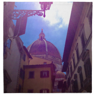 Brunelleschi Dome in Florence, Italy Napkin