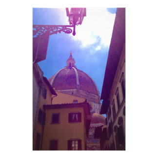 Brunelleschi Dome in Florence, Italy Stationery