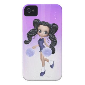 Brunette Cheerleader Girl Blackberry Case