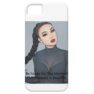 Brunette girl Phone CASE/Cover for small mobile iPhone 5 Cover