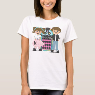 Brunette Sock Hop T-Shirt