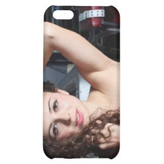 Brunette Woman iPhone 5C Cases