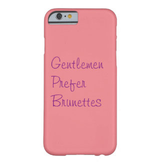 Brunettes Barely There iPhone 6 Case