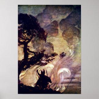 Brunhilde's Fire Poster