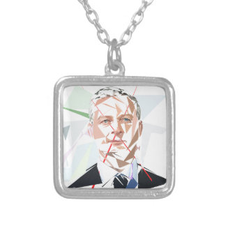 Bruno Lemaire Silver Plated Necklace