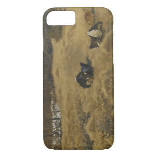 Bruno Liljefors - Black Grouse Displaying iPhone 7 Case