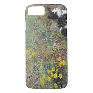 Bruno Liljefors - Cat on Flowerbed iPhone 7 Case