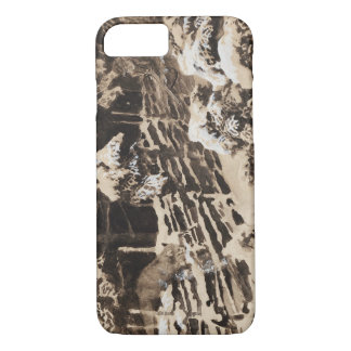 Bruno Liljefors - Winter Scene with Hunter and Fox iPhone 7 Case