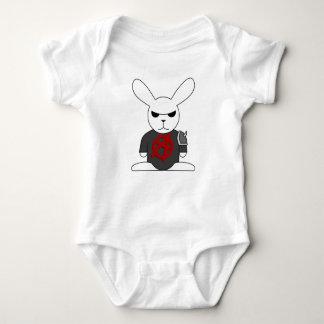 Bruno the Gothic Bunny Baby Bodysuit