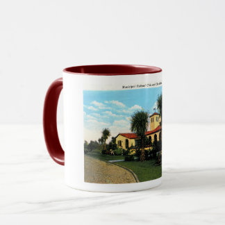 Brunswick, Georgia, Visitors Center, Vintage Mug