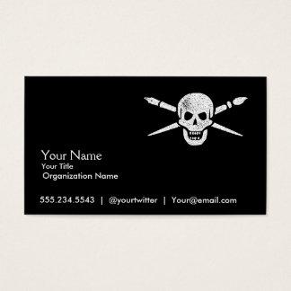 Brush and Bones Freelance Designer or Artist Cards